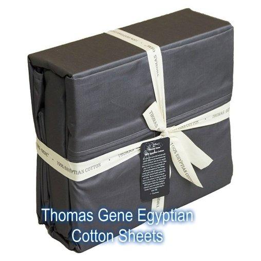 Thomas Gene luxury Egyptian Cotton Sheets