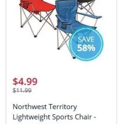 Northwest Territory Chairs Children S Lounge Chair Grab A Few Lightweight Sports Only 4 99