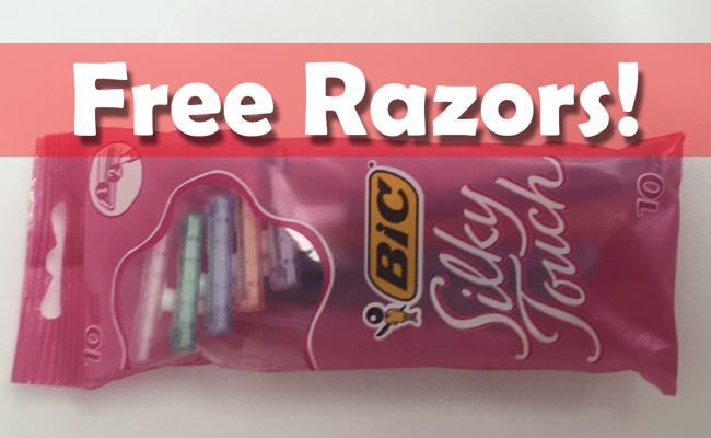 Free Bic Razors