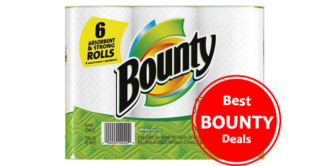 Coupons for bounty and charmin