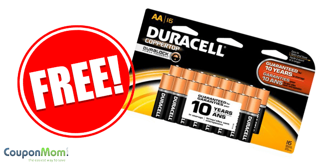 photograph about Duracell Coupons Printable referred to as Totally free Duracell Batteries - CouponMom Weblog