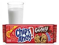 Nabisco cookies and milk