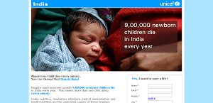 Donate to UNICEF Save a life