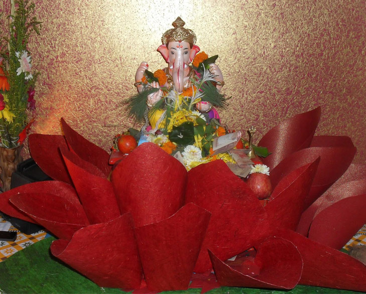 Crafts Paper Ganesh Chaturthi Decor Theroyaleindia