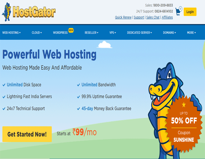 Discounts new ​HostGator Web hosting promo code, coupon code! ​HostGator coupon 2018