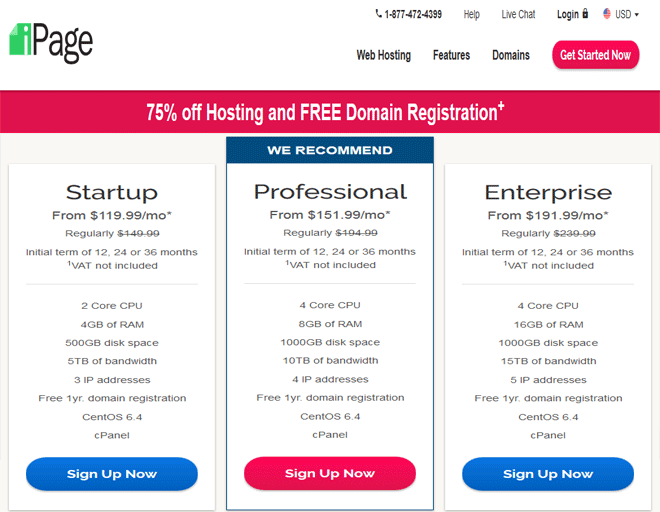 iPage coupon, discount on Dedicated servers hosting promo code, coupon 2018