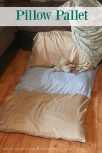 Kid's Homemade Pillow Bed / Chair - Coupons and Freebies Mom