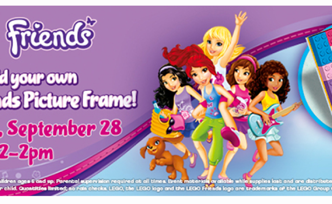 Free Lego Friends Picture Frame Event