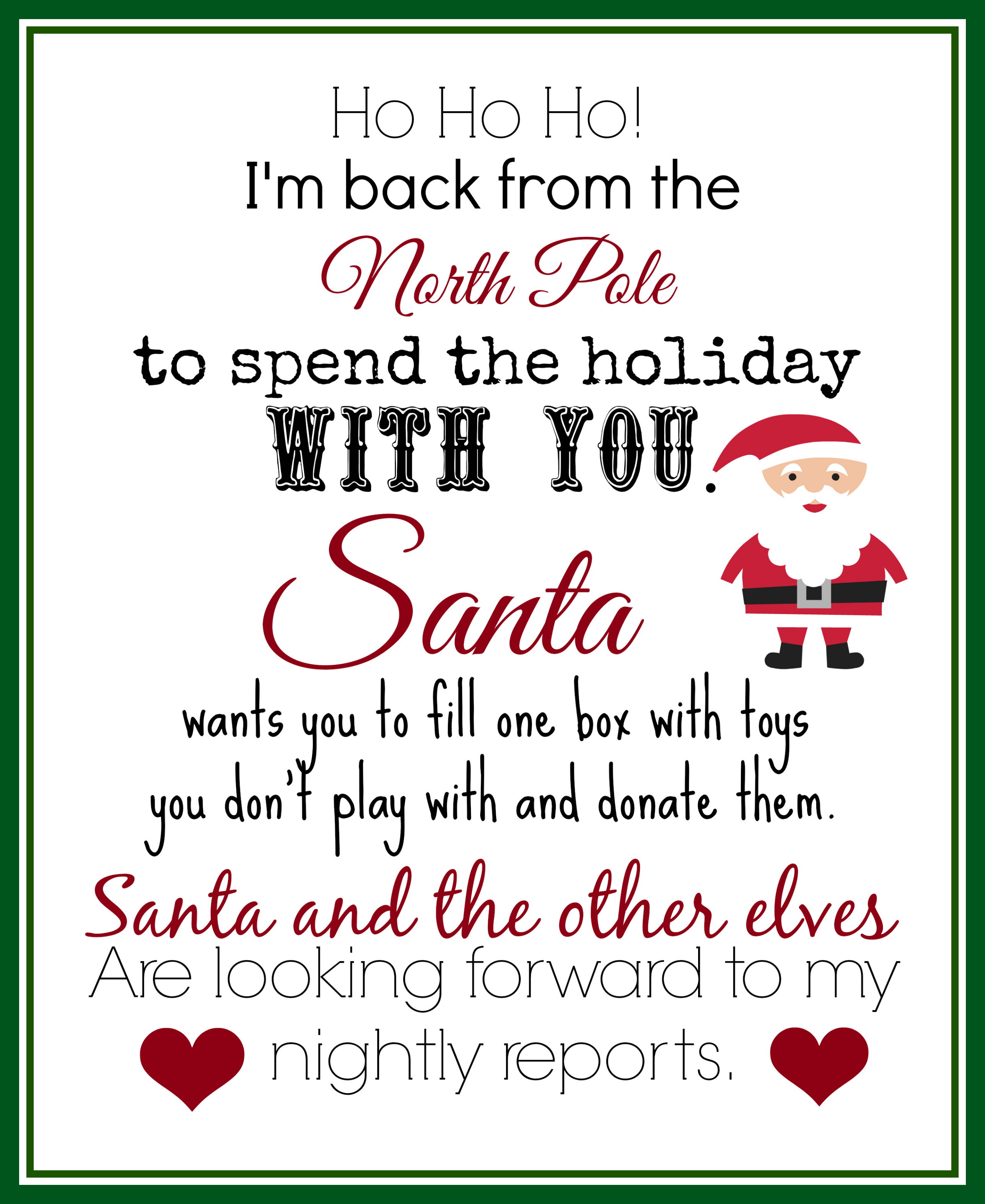 It's just an image of Elf on the Shelf Welcome Letter Printable for goodbye