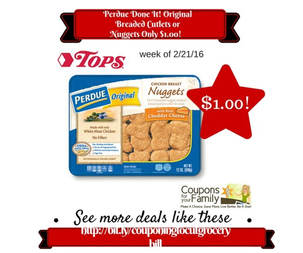 Tops Coupon Deal Perdue Done It! Original Breaded Cutlets