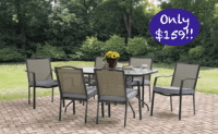 *HOT Walmart Rollback 8/12/17* Patio Dining Table & 6 ...