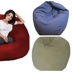 Xl Bean Bag Chair Pub Table And Chairs 3 Piece Set Enter To Win The Outlet Royal Sack