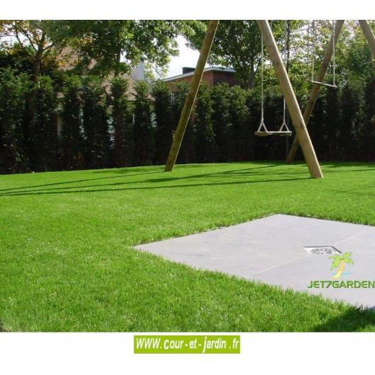 gazon synthetique jet7green 40p fibre de 40mm