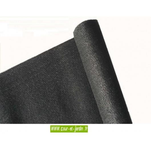 brise vue occultant noir rouleau de 50m de ht 2m toile brise vue pvc