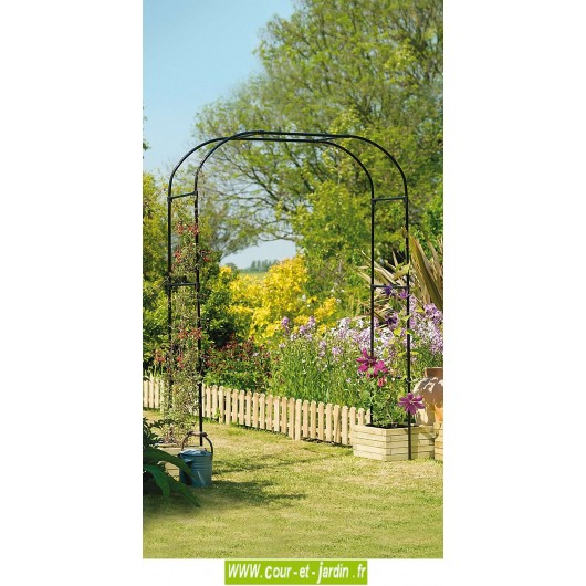 arche de jardin extra large pergola decorative en metal