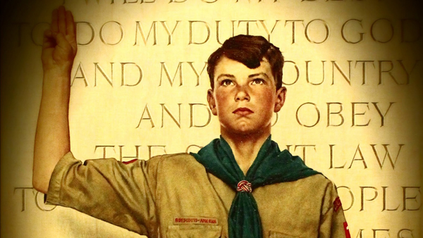 Boy Scout - Normal Rockwell