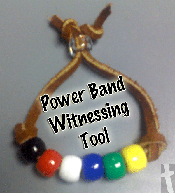 Power Band Witnessing Tool Bracelet
