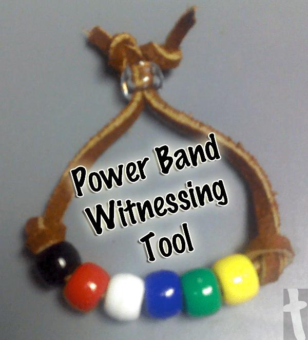 Power Band Witnessing Tool Bracelet