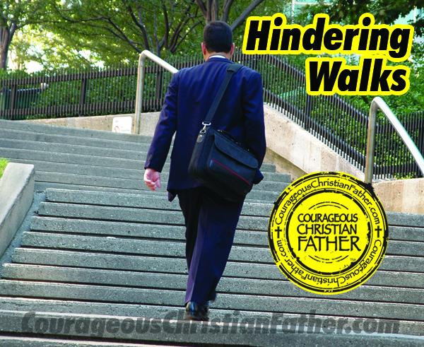 Hindering Walks
