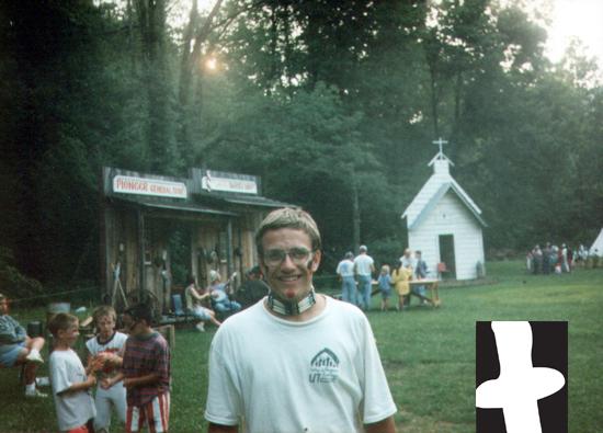 Steve Patterson at Camp Ba-Yo-Ca in 1994