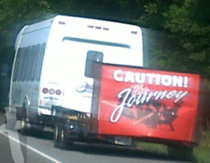 THe Oasis Church Caution The Journey Van near New Market June 29, 2012 off IIE (Andrew Johnson Hwy)