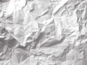 Crumbled up paper