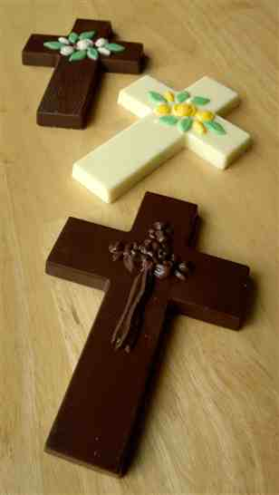 Easter Chocolate Crosses