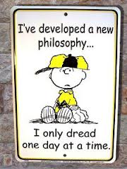 Charlie Brown Dread image I only dream one day at a time.