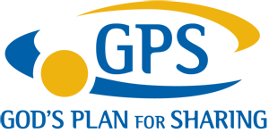 GPS - God's Plan for Sharing logo (GPS Acronym)