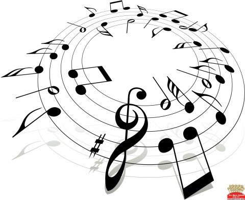 Music Notes Clipart - Christian Music