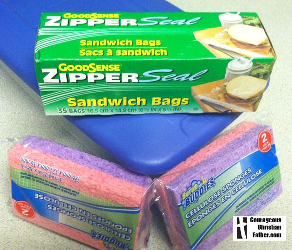 Homemade IcePacks (material)