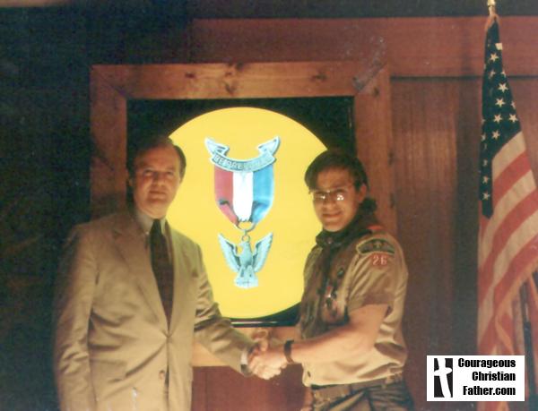 Steve's Eagle Scout Banquet March 14, 1995