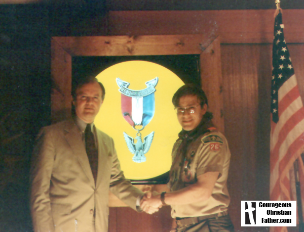 Steve's Eagle Scout Banquet March 14, 1995 - The Scout Law – A Christian Point of View