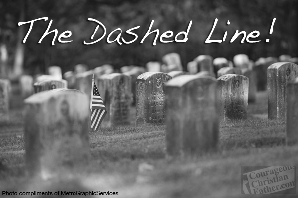 The Dashed Line (photo compliments of MetroGraphicServices)