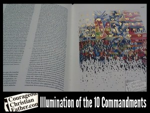 Illumination of the 10 Commandment