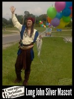 Long John Silver Priate Mascot