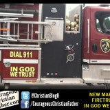 New Market Firetruck - In God We Trust