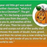 Christian Pumpkin Analogy