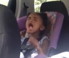 3 year old sings to Plumb - Need You Now
