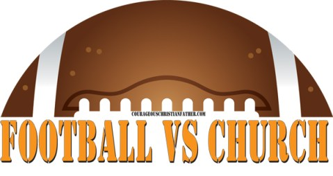 football vs church