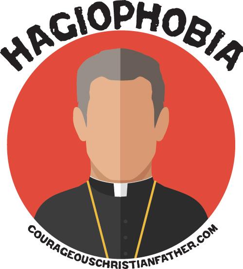 Hagiophobia - Fear of saints or holy things. #Hagiophobia