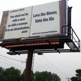 Leviticus 18:22 Billboard