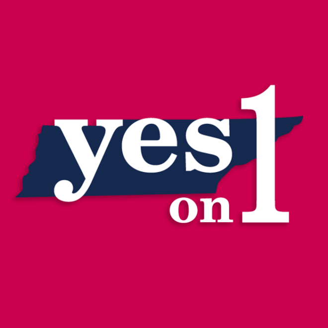 Yes On 1 Logo