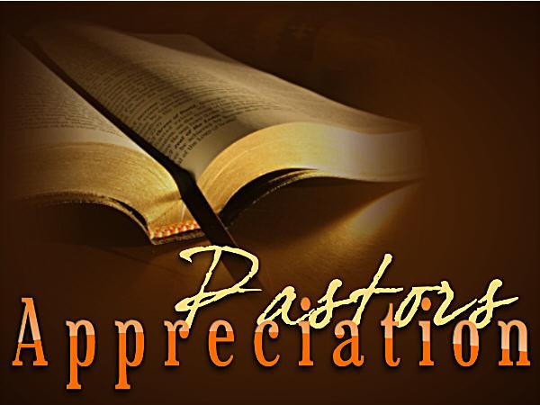 Pastor Appreciation Month is in October