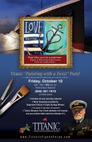 """Titanic """"Painting with a Twist"""" Party!"""