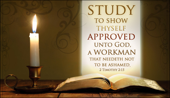 2 Timothy 2:15 - Approved to God