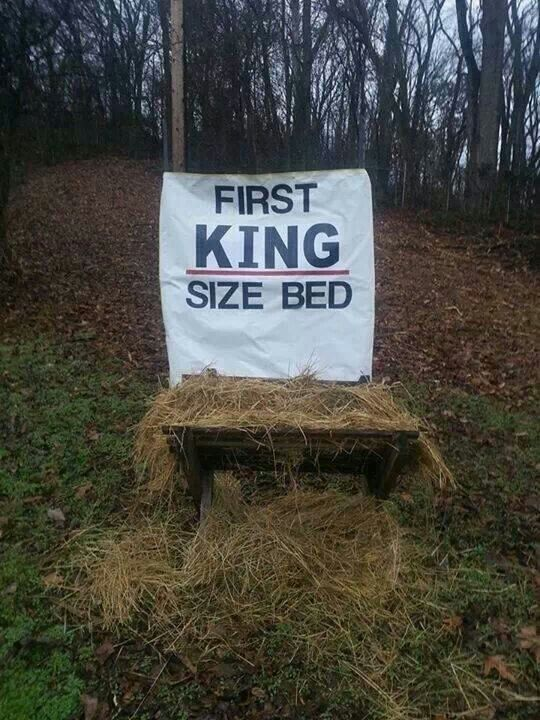 The First King Size Bed
