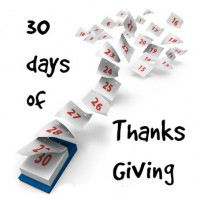 30 Days of Thanksgiving: Day 29