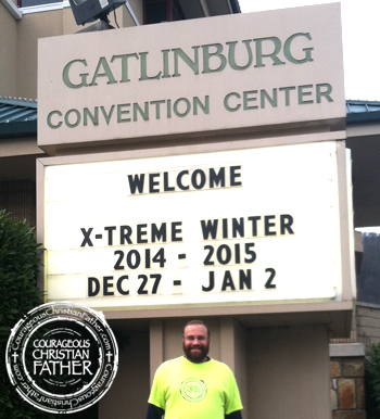 Steve at Xtreme Winter 2014