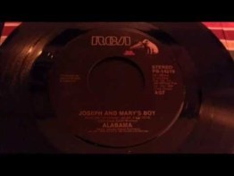 Joseph & Mary's Boy - Alabama - 45 Record